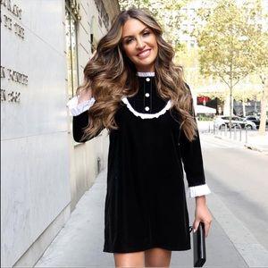 Zara Dresses - 🎉HOST PICK🎉 BLOGGERS FAVORITE ZARA VELVET DRESS